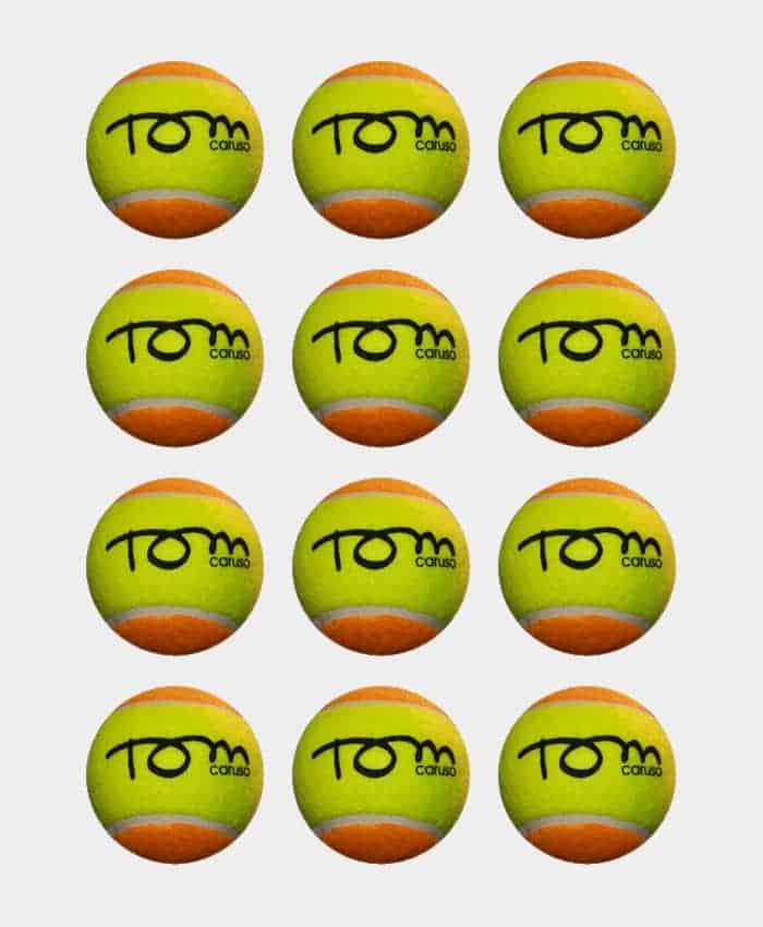 Tom Caruso Beach Tennis balls (3 pack)