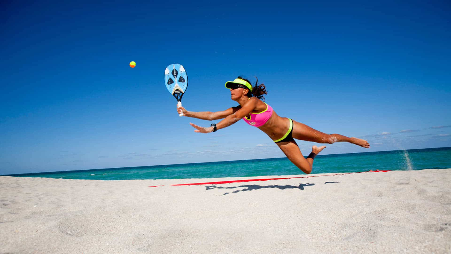 Roos De Hart Beach Tennis Miami